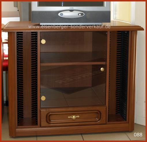 TV-Schrank Rustica B:95cm H:73cm T:48cm nussbaumfarbig cognac