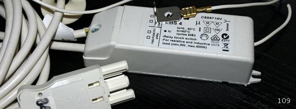 Trafo für Beleuchtung, mit Tipp-Sensor Preise auf Anfrage