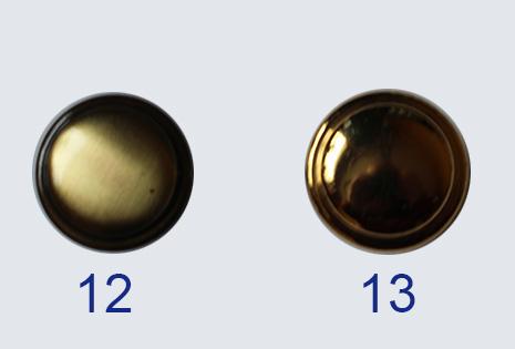 Knöpfe 12 und 13