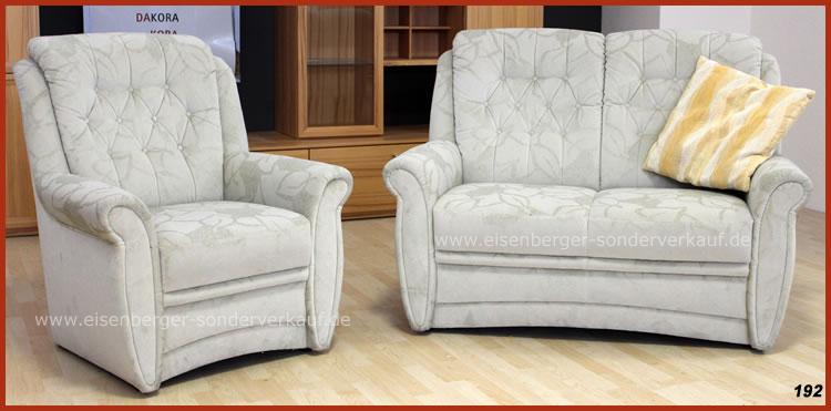 Sessel und Zweisitzer Einzelstücke